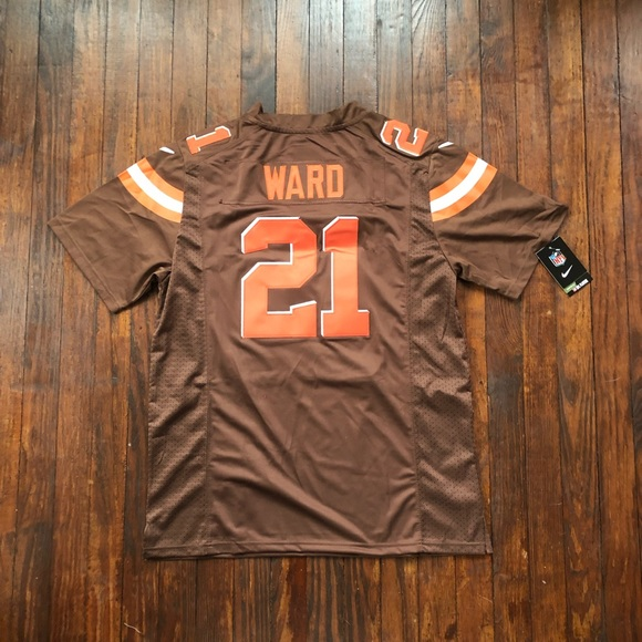 cheaper 86760 ced17 Denzel Ward Cleveland Browns Jersey NWT